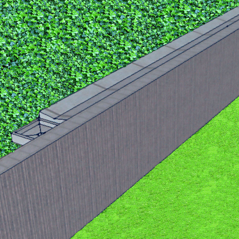 Concrete Retaining Wall Drainage Detail submited images